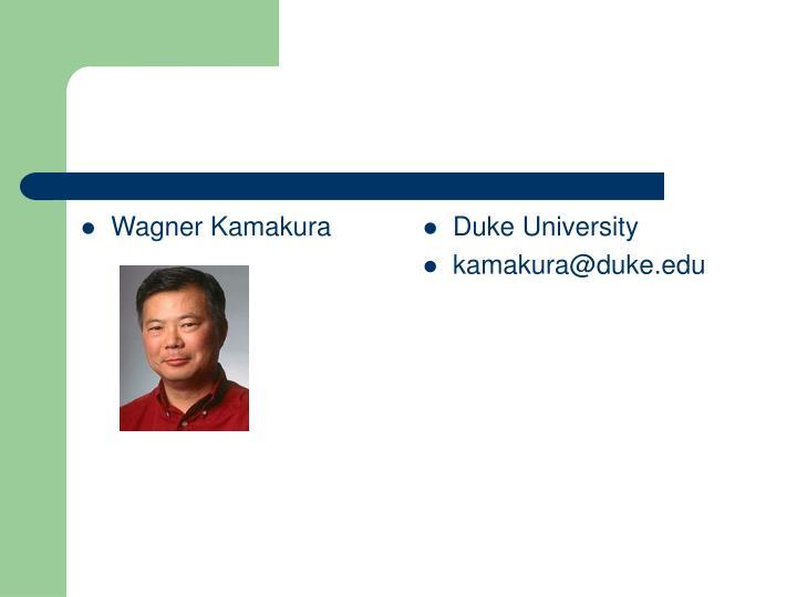 Wagner Kamakura