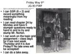 friday may 9 th jg 3 fwf