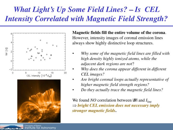 What Light's Up Some Field Lines?