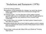 yochelson and samenow 1976