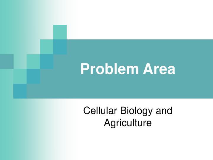 Problem area
