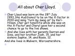 all about cher lloyd