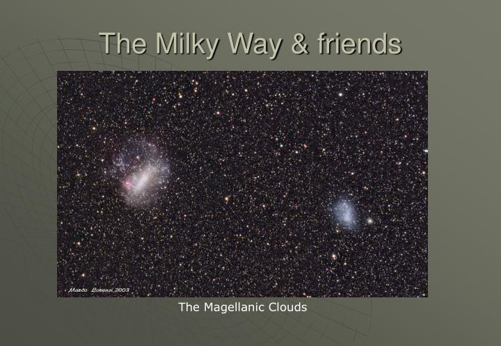 The Milky Way & friends