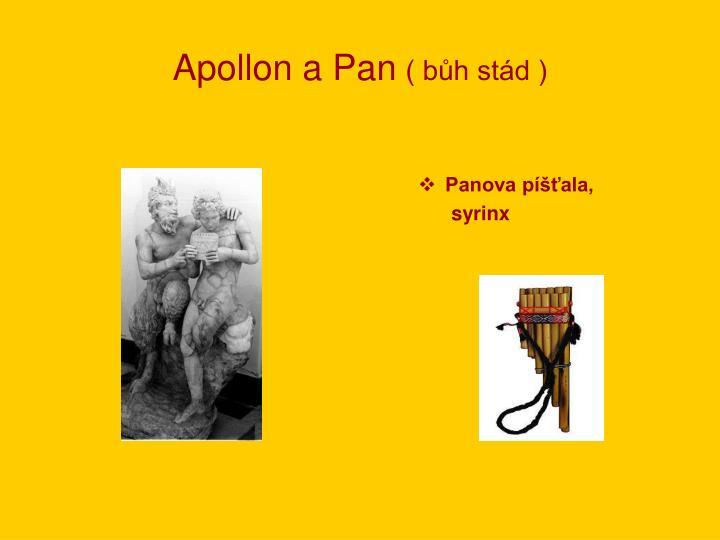 Apollon a Pan