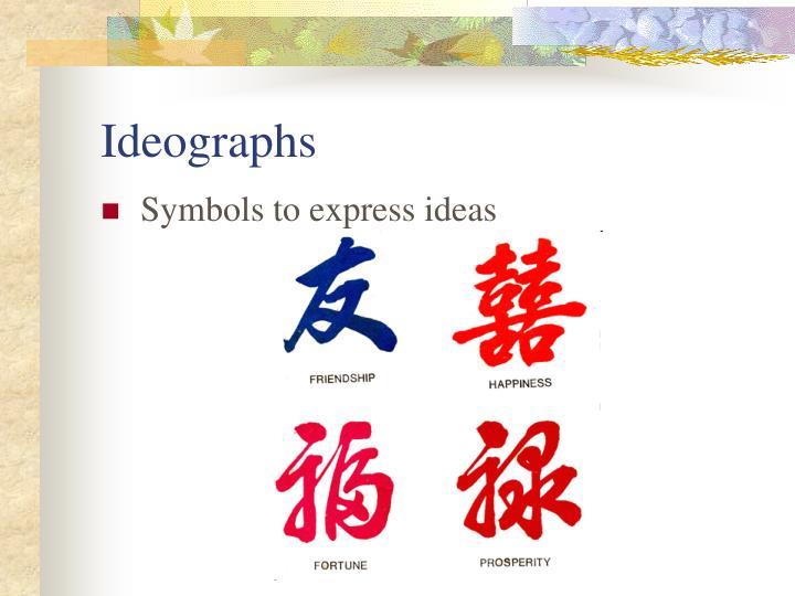 Ideographs