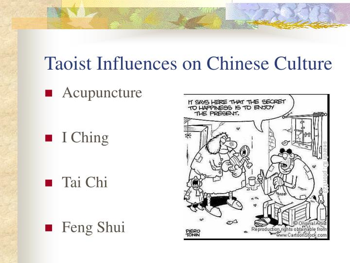 Taoist Influences on Chinese Culture