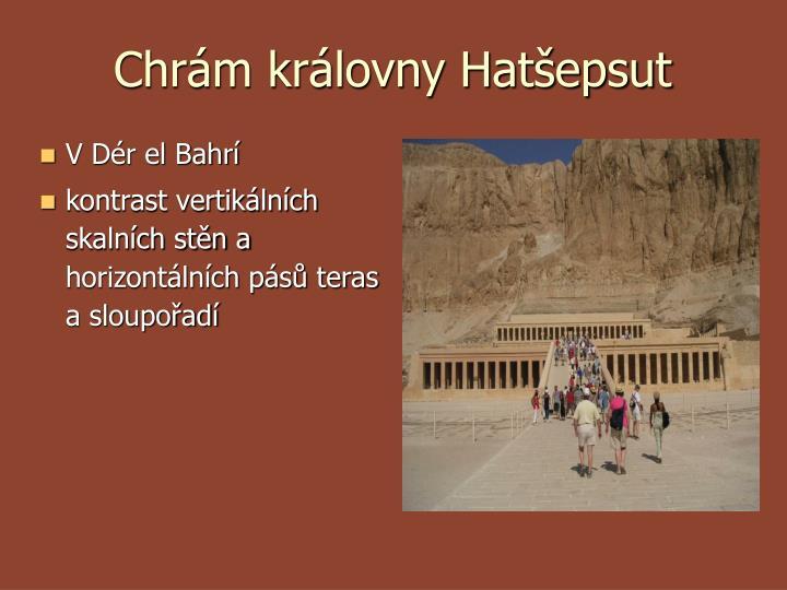 Chrám královny Hatšepsut