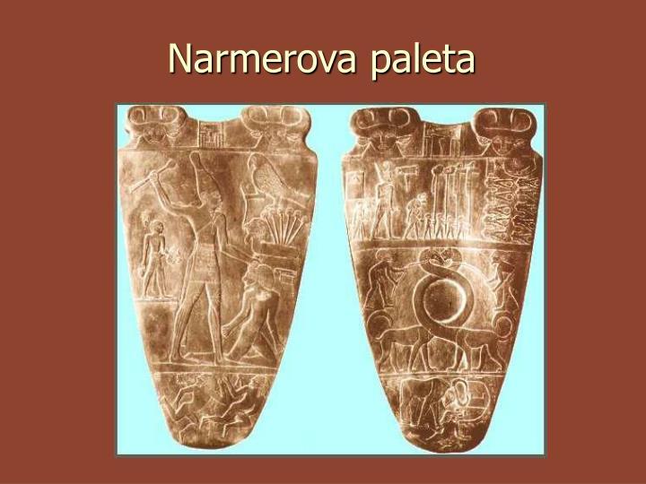 Narmerova paleta