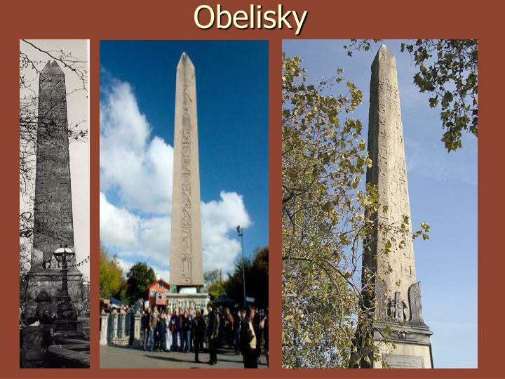 Obelisky