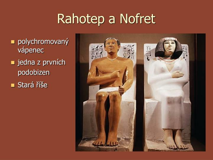 Rahotep a Nofret