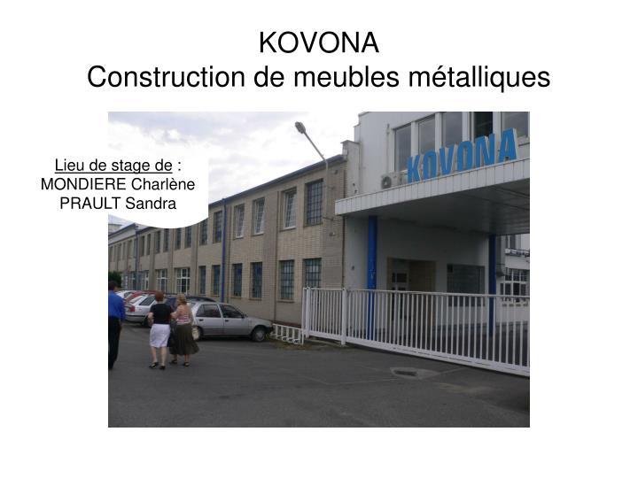 KOVONA