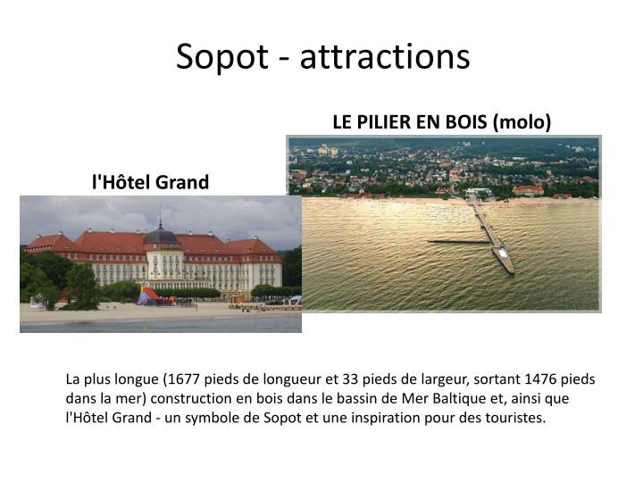 Sopot attractions