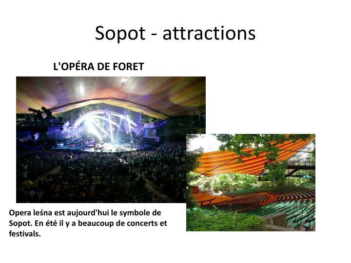 Sopot - attractions