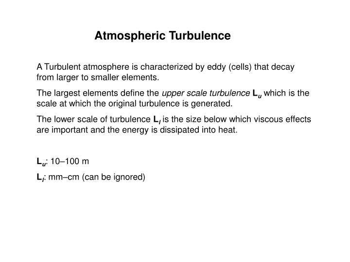 Atmospheric Turbulence