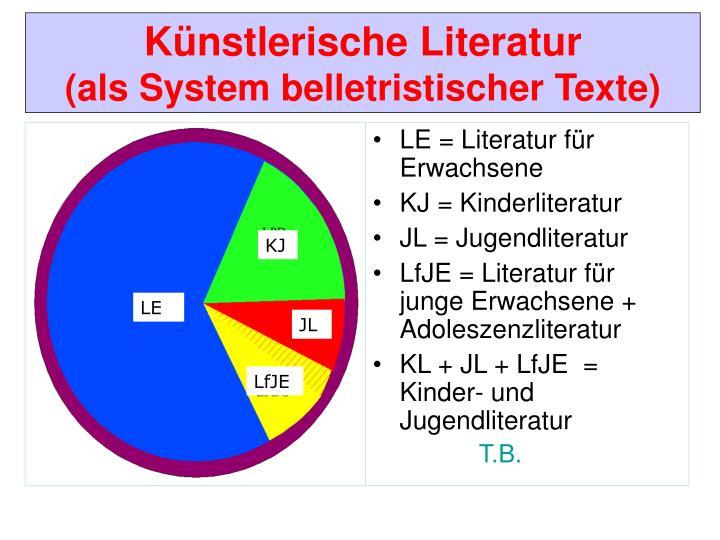 LE = Literatur für Erwachsene