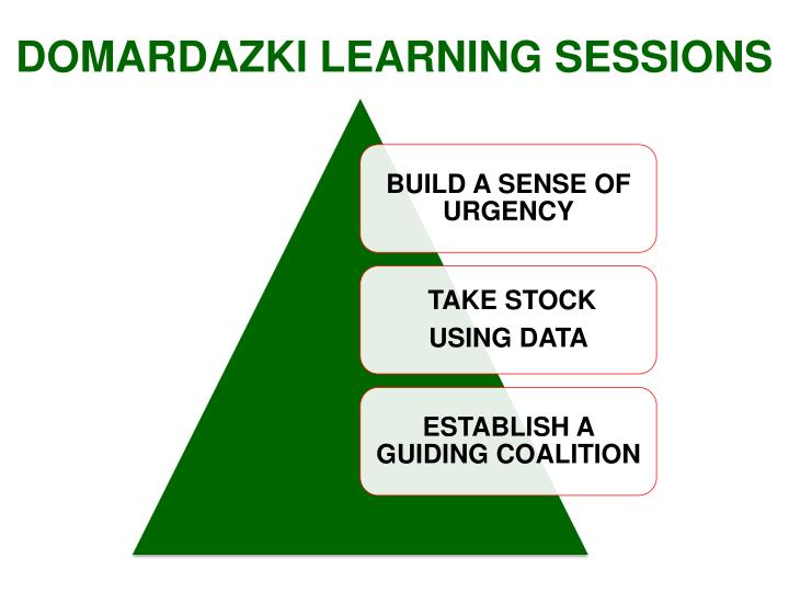 DOMARDAZKI LEARNING SESSIONS