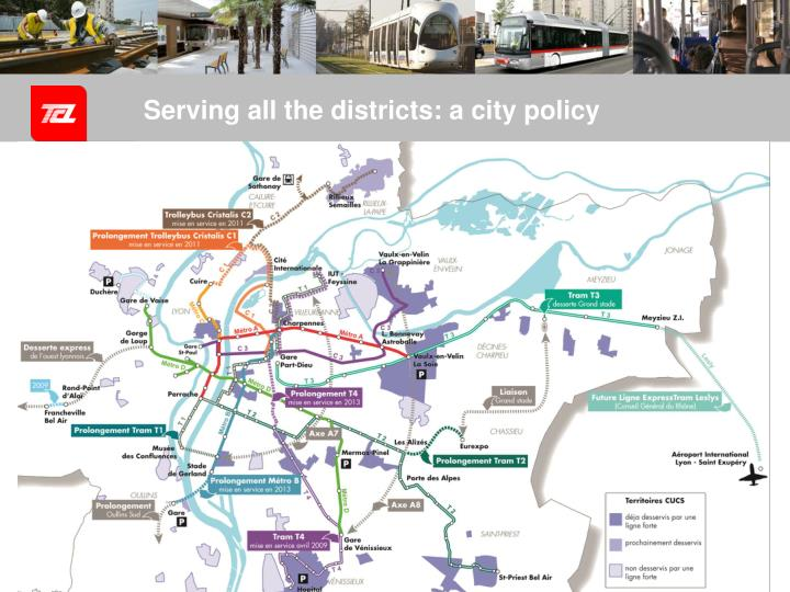 Serving all the districts: a city policy