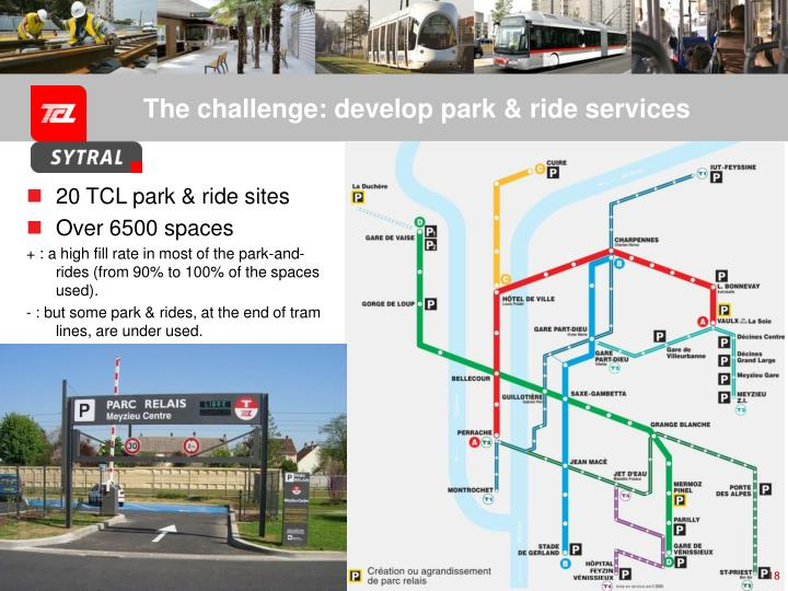 The challenge: develop park & ride services