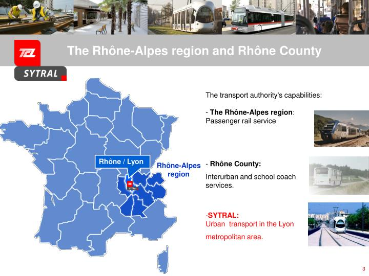 The rh ne alpes region and rh ne county