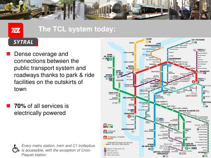 The TCL system today: