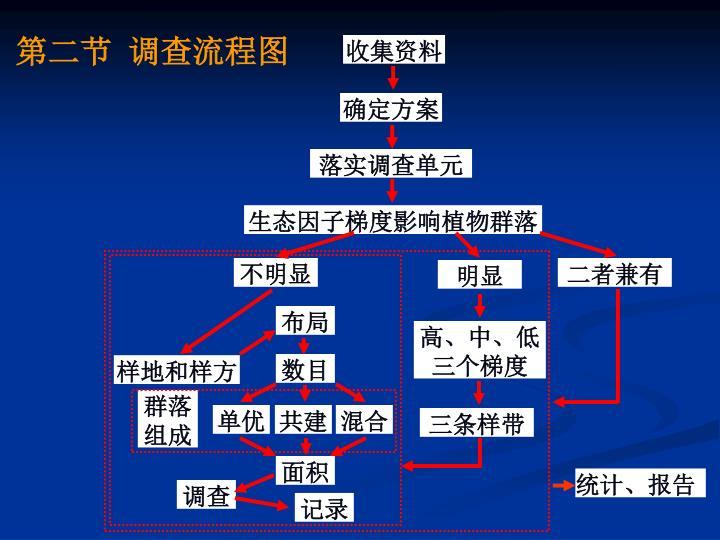 第二节 调查流程图