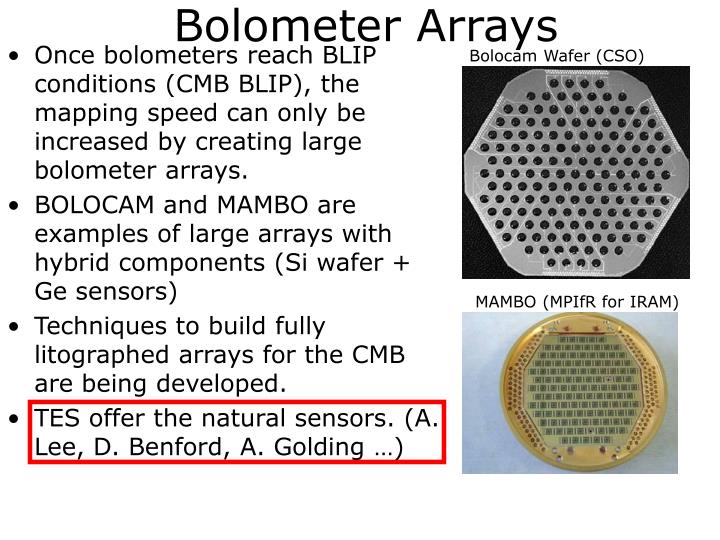 Bolocam Wafer (CSO)