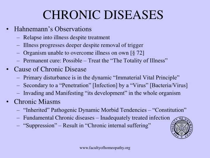 CHRONIC DISEASES