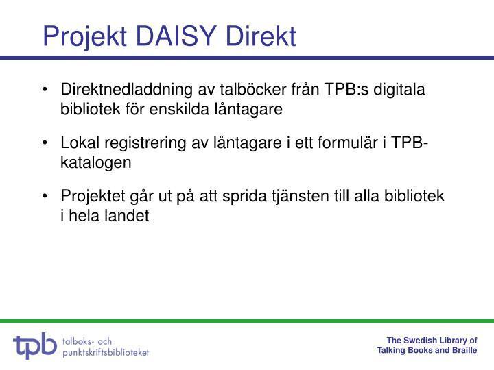 Projekt daisy direkt