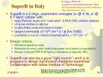 superb in italy
