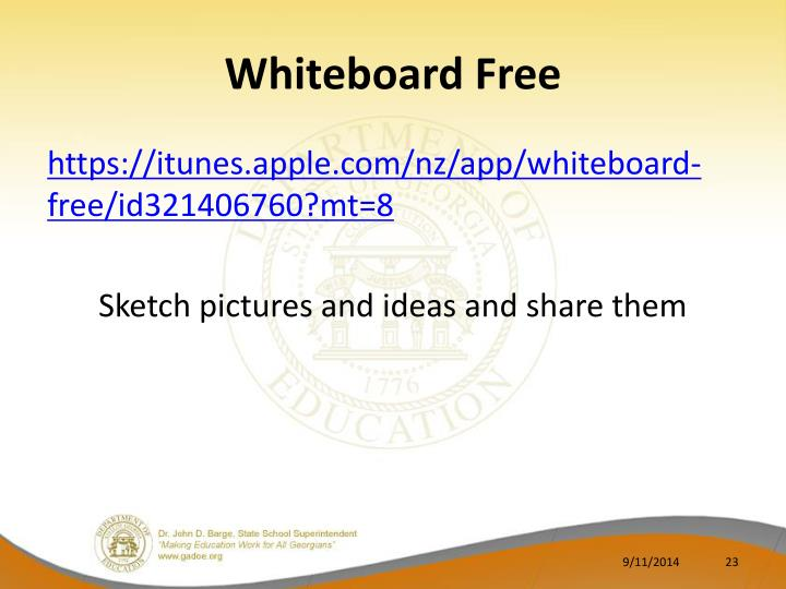 Whiteboard Free