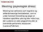 mestring psykologisk stress