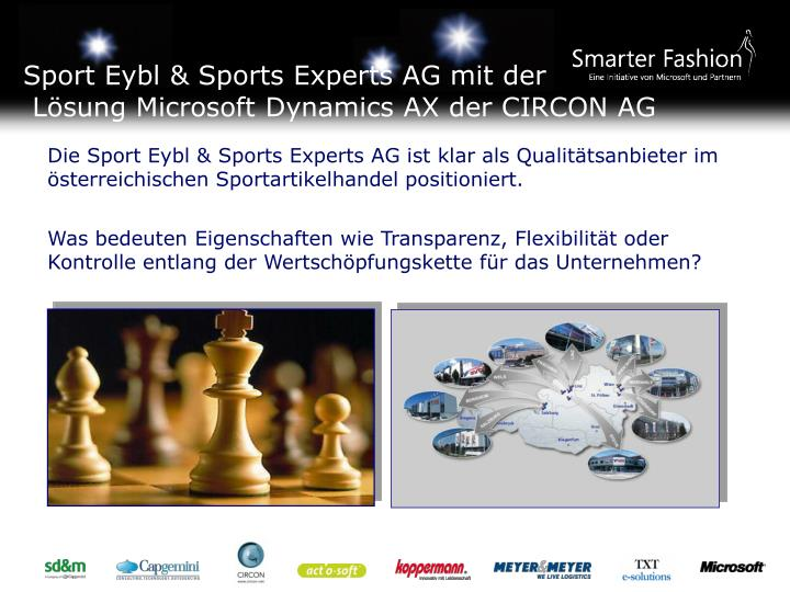 Sport Eybl & Sports Experts AG mit der