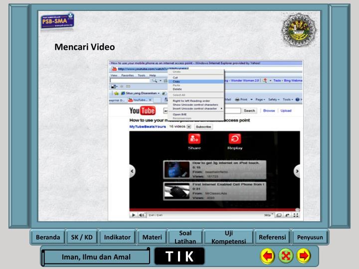 Mencari Video