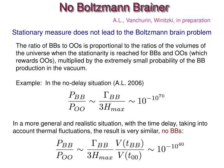No Boltzmann Brainer