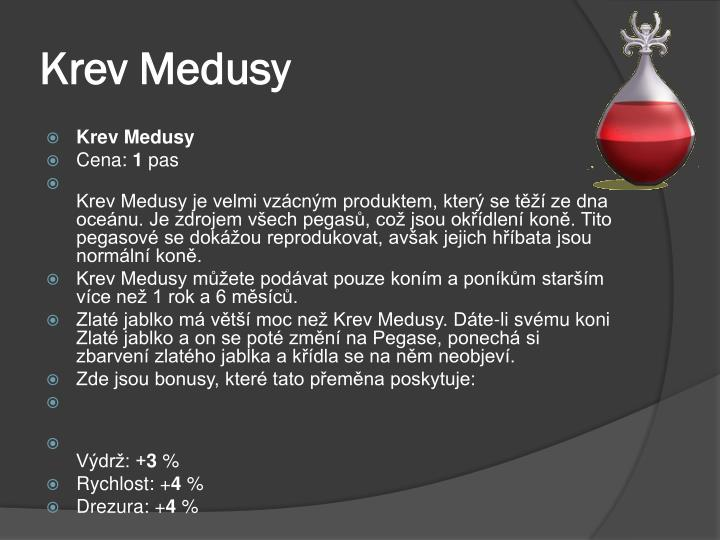 Krev Medusy