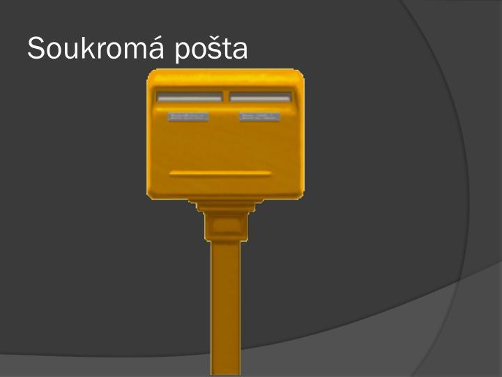 Soukromá pošta