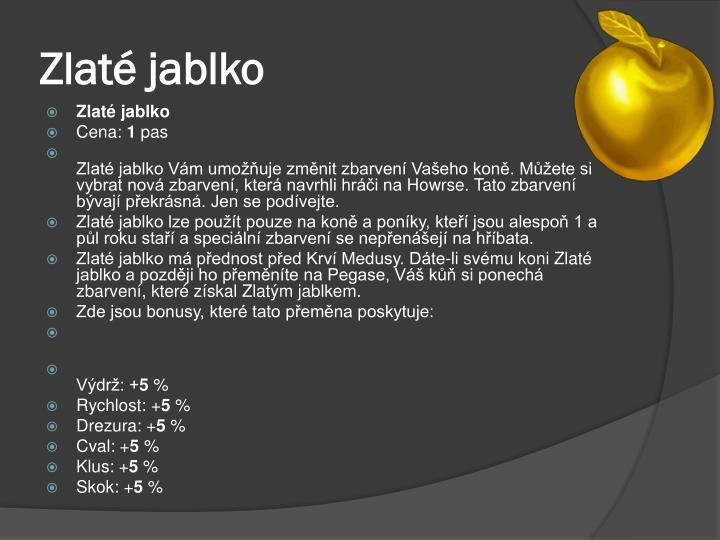 Zlaté jablko