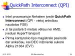 quickpath interconnect qpi