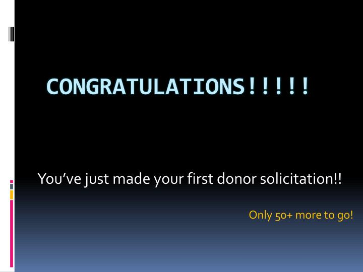 Congratulations!!!!!