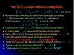 vector curvaton without instabilities