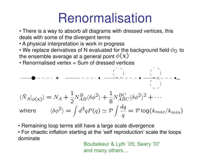 Renormalisation