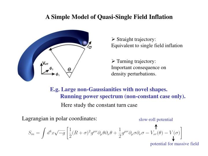 A Simple Model of Quasi-Single Field Inflation