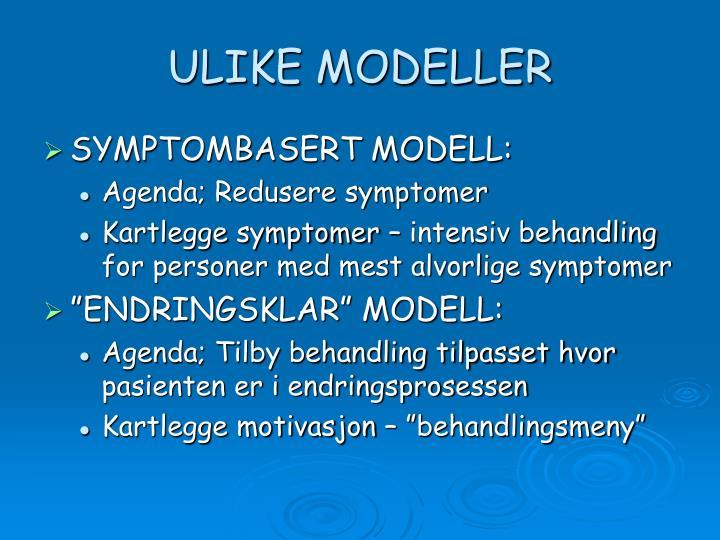 ULIKE MODELLER
