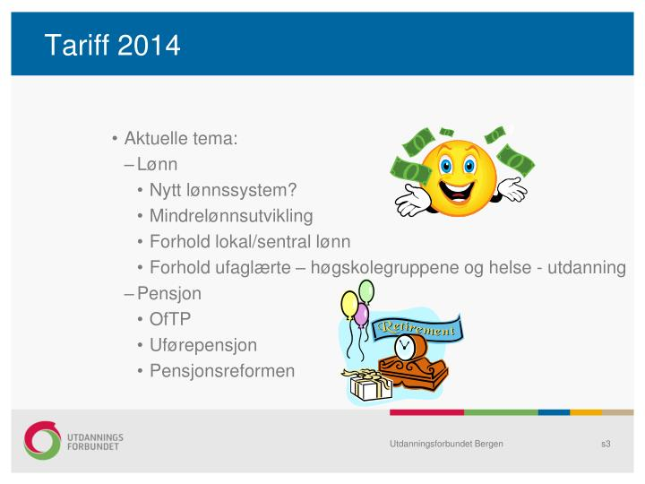 Tariff 20141