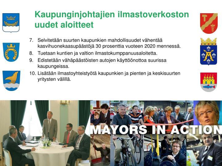 Kaupunginjohtajien ilmastoverkoston