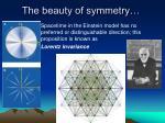 the beauty of symmetry
