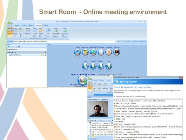 Smart Room  - Online meeting environment