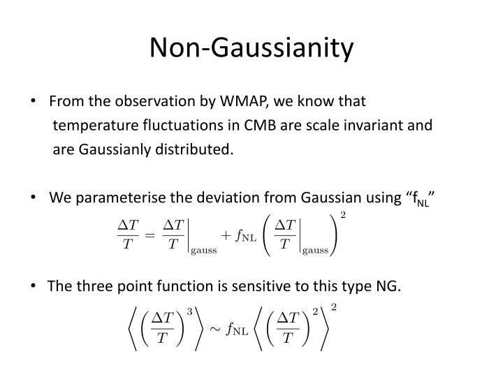 Non-Gaussianity