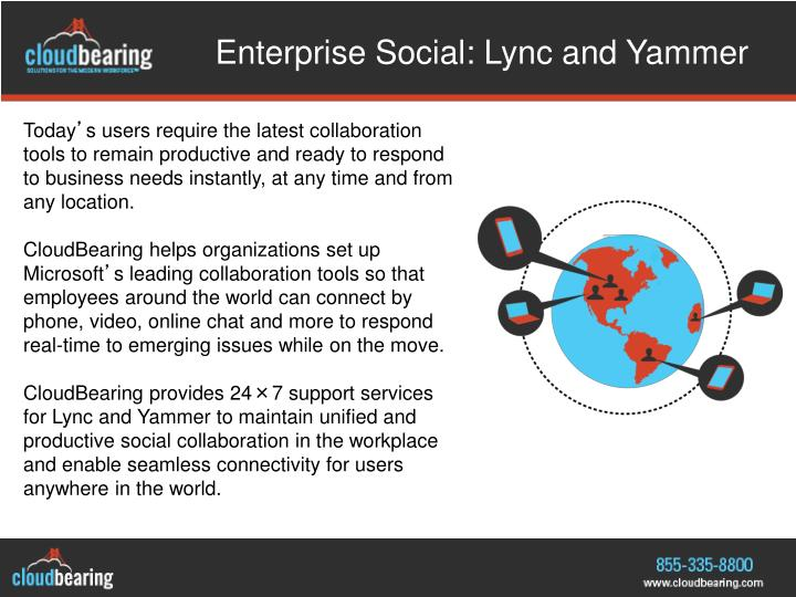 Enterprise Social: Lync and Yammer
