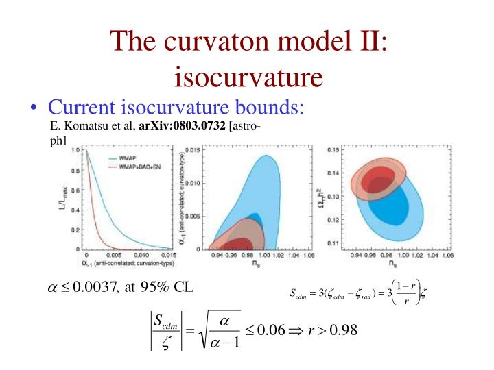 The curvaton model II: isocurvature
